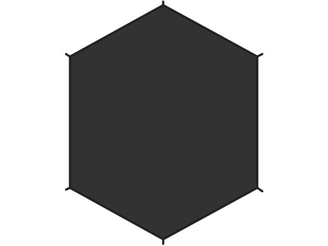 Fjällräven Dome 3 Bund, sort